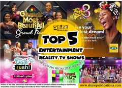 Top 5 Reality TV Shows In Ghana (2000 – 2020)